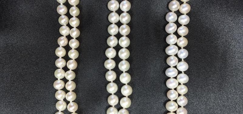Jacqueline Shaw - Freshwater Pearl Necklaces