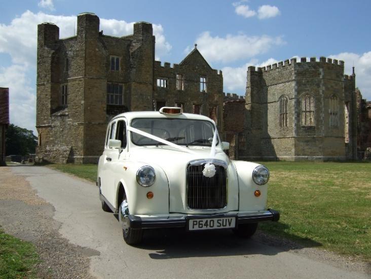 White London Wedding Taxis