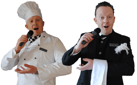 Singers for Hire | Singing Waiters