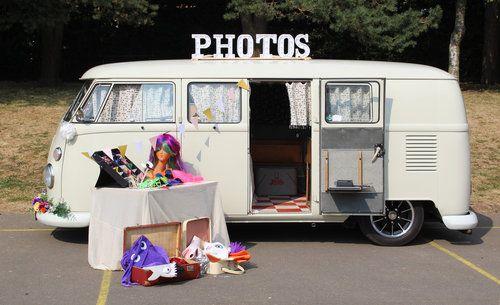 Pixwagen Camper Photobooth