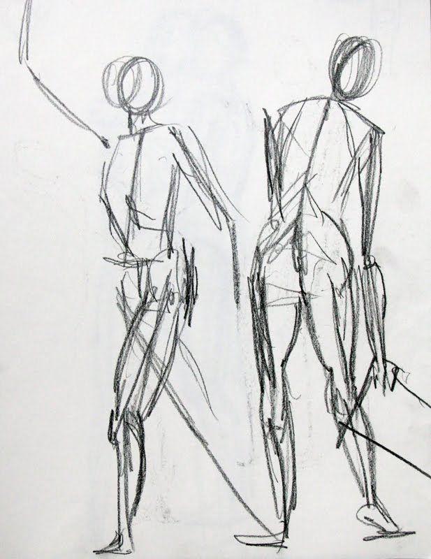 Hen Life Drawing