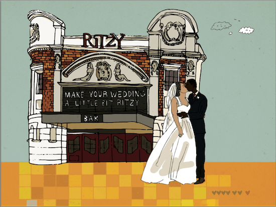 Weddings at the Ritzy Cinema, Brixton